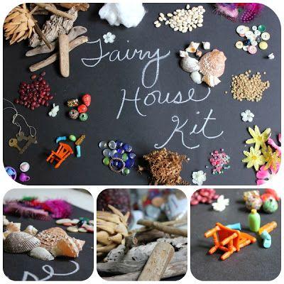 how to build fairy houses!