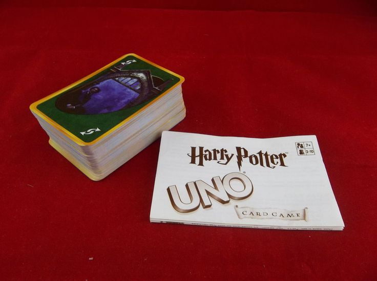 Lot Of 110 Harry Potter Uno Card Game Replacement Cards With Instructions   #HarryPotter #UNO #Cards #Game #Lot #Replacement #eBay