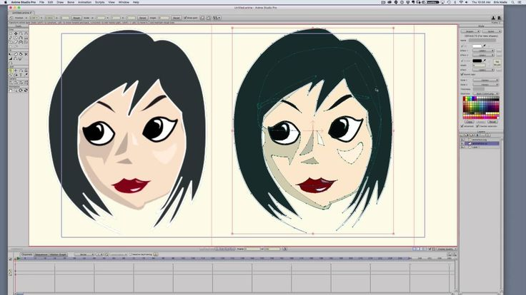 Anime Studio: Working with Adobe Illustrator Files