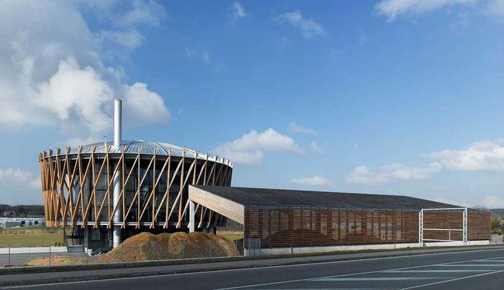 Biomass Power Plant by Matteo Thun and Partners, Tübingen, Germany