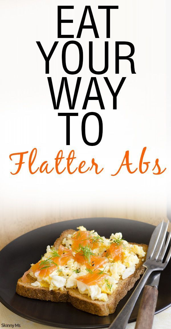 Eat Your Way to Flatter Abs with these awesome flat belly recipes.