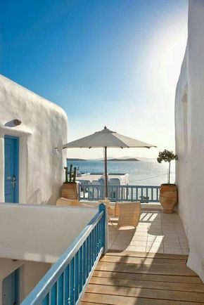 Harmony hotel, Mykonos island, Greece