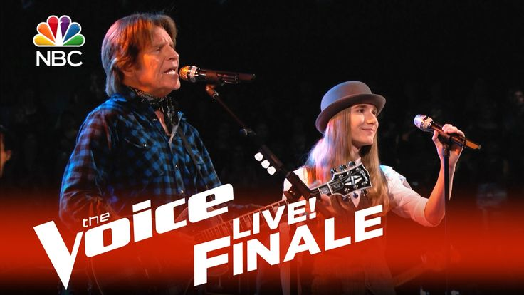 """The Voice 2015 Sawyer Fredericks and John Fogerty - Live Finale: """"Born o..."""