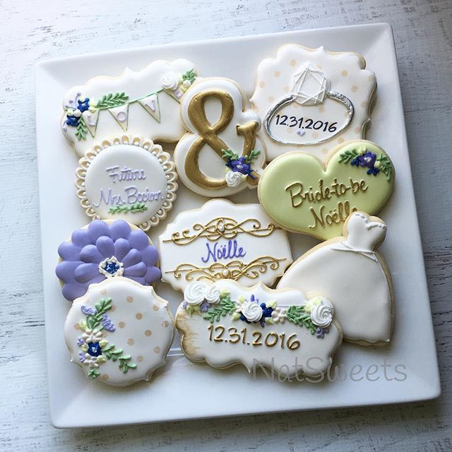 Best 25+ Wedding shower cookies ideas on Pinterest ...