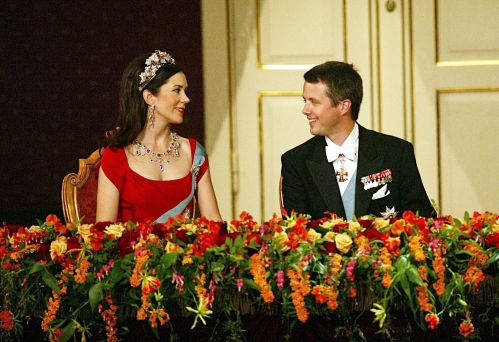 "princess-charm-school: ""A gala concert at Den Konglige Theater in Copenhagen was a part of Mary Elizabeth Donaldson and His Royal Highness The Crown Prince of Denmark's pre-wedding festivities; May 13, 2004. """