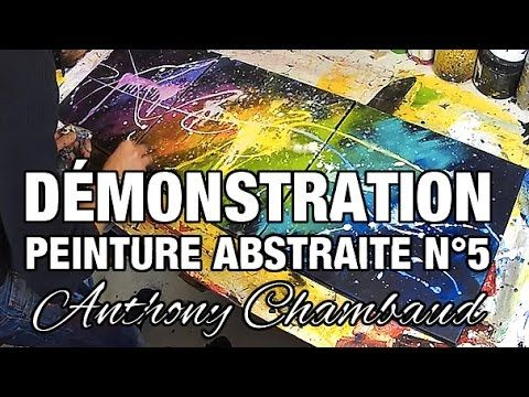 Demonstration of Abstract Painting # 4: Demo of Abstract Painting – YouTube