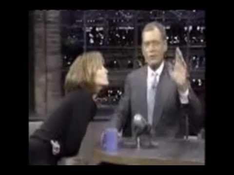 David Letterman - flirting 3 (Great Moments)