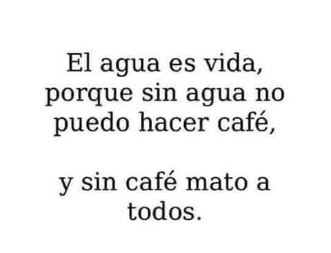 ¡Quiero mi café!