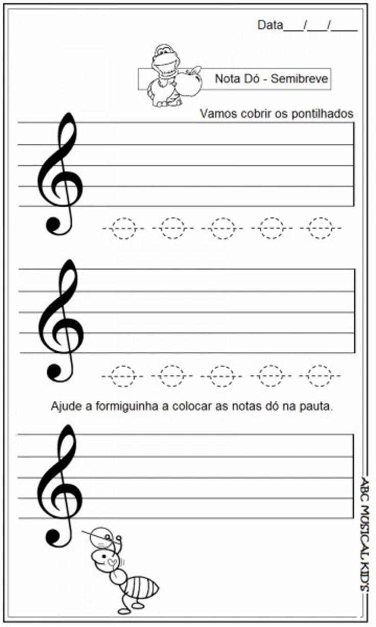 CADERNO DE ATIVIDADES (Musicalização)