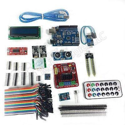 Arduino UNO R3 Starter Kit Sensor Set -> Mega 2560 Raspberry Pi