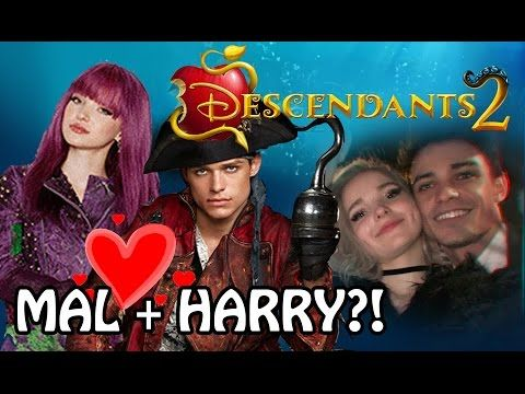 Descendants 2 cast - The OFFICIAL cast for Descendants 2 2017 - Mal Jay Evie Carlos and new! - YouTube