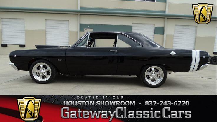 1968 Dodge Dart 426 CID V8- Gateway Classic Cars of Houston - #343