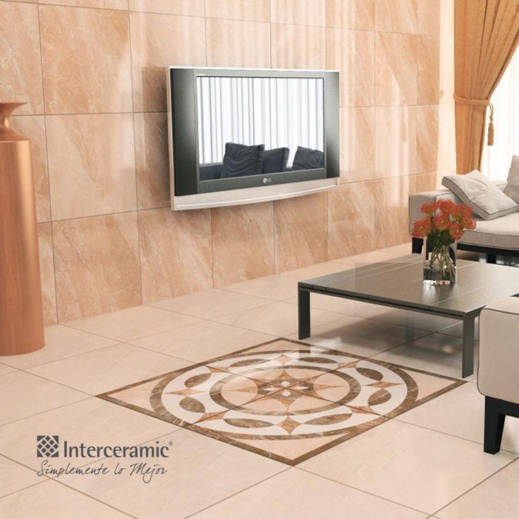 Mezcla estilos de pisos o azulejos para resaltar un for Pizos y azulejos