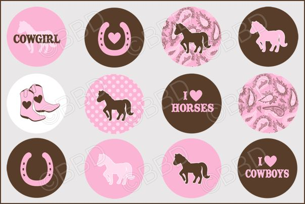 Free Bottle Cap Images Download | 411 HORSE LOVE Bottle Cap Graphics