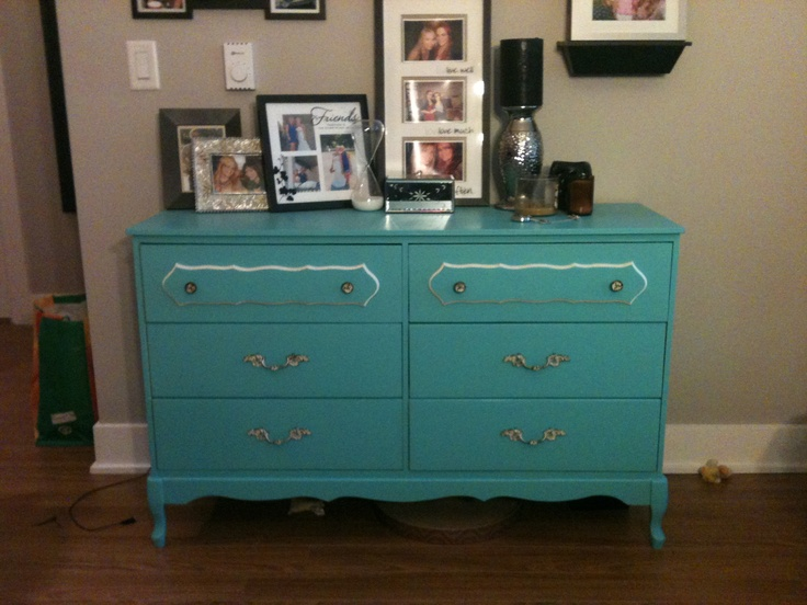 Amanda's 1970's Dresser now Living Room Storage for JB