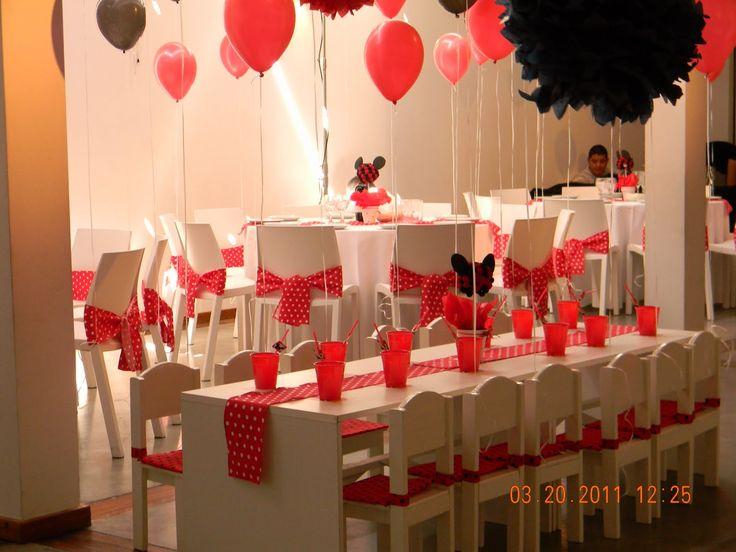 Decoracion mesas y sillas