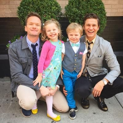 Buzzing: Neil Patrick Harris and David Burtka Win Parents of the Year with This Unbelievable Birthday Cake #fashion