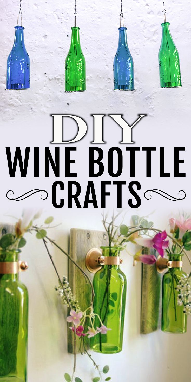 Diy Wine Bottle Projects 1562 Best Crafts Images On Pinterest Diy Children And Crafts