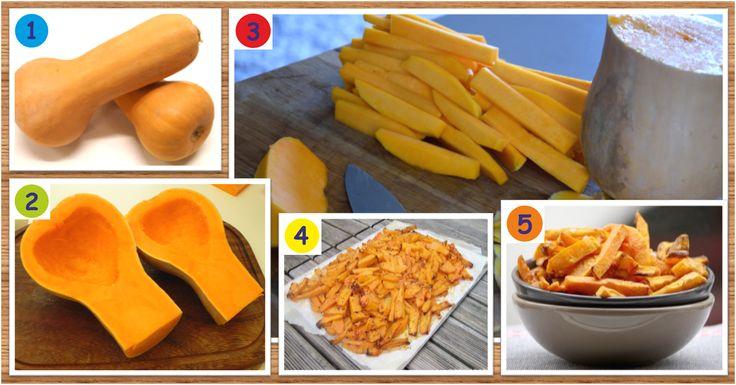 Recette de frites santé et minceur de courge butternut « Maigrir Sans Faim