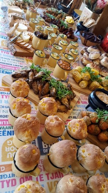 """Proudly South African """"Kuier"""" Food Table"""