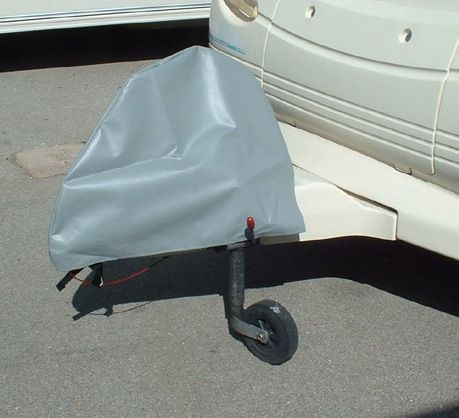 caravan hitch cover heavy pvc protection