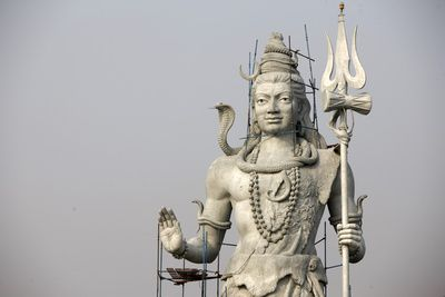 Tall Shiva Sculpture in Hardwar