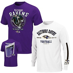 NFL 3-in-1 Tee Shirt Combo by VF Imagewear - Ravens at HSN.com.