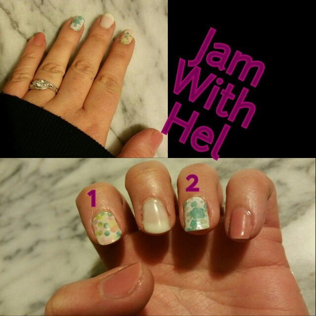 1 Out of Focus 2 Desting Nail wraps