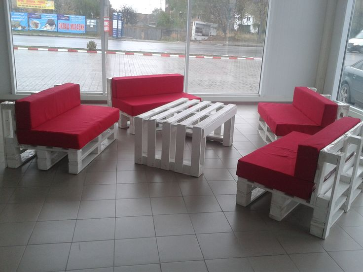 Pallet Lobby Furniture Great Pictures