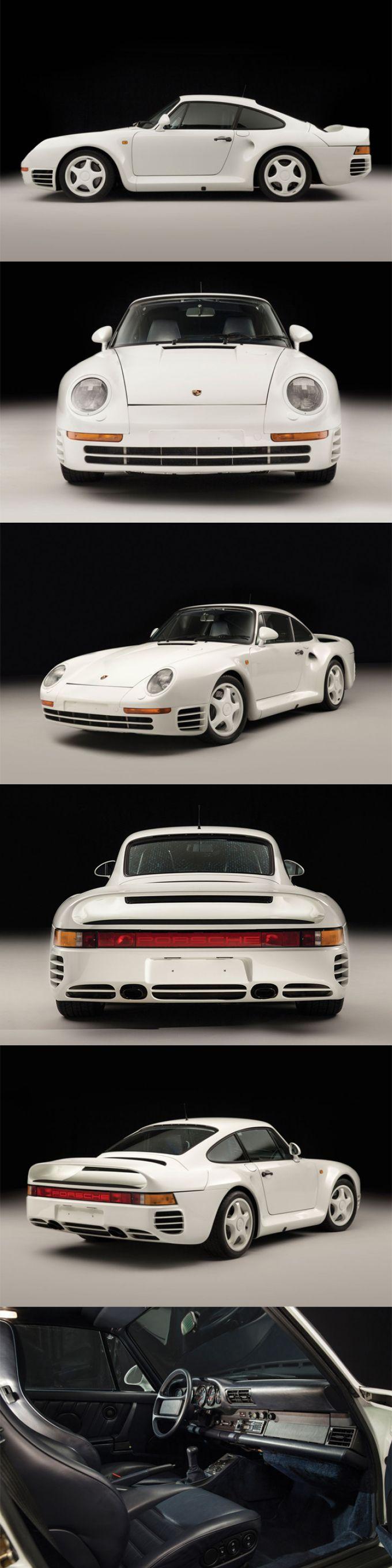 1986 Porsche 959 Komfort / 337 prod. / 444hp / Group B homologation / Germany / white