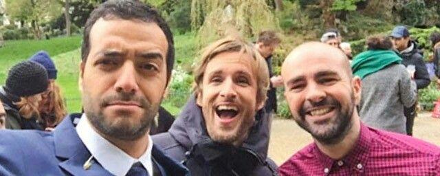 Tarek Boudali, Philippe Lacheau et Julien Arruti =)
