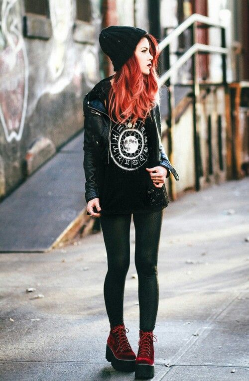 17 Best Images About My Style On Pinterest Rock Style