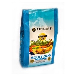 Artemis Fresh Mix Adult Dog food is available in 15lb and 30lb bags.  Save 10% with coupon code: PIN10.