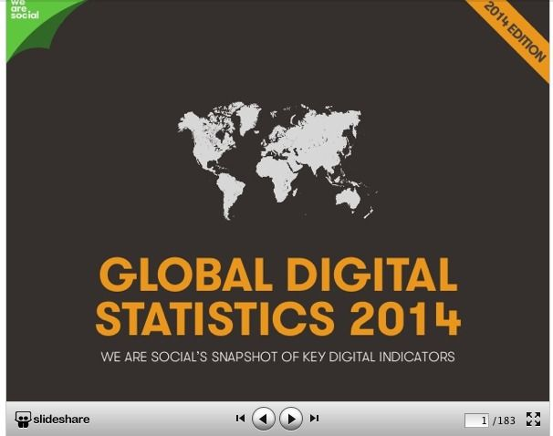Worldwide Internet, #Social Media and #Mobile statistics: It's all in the #Data!  @Richard Watts @The Next Web