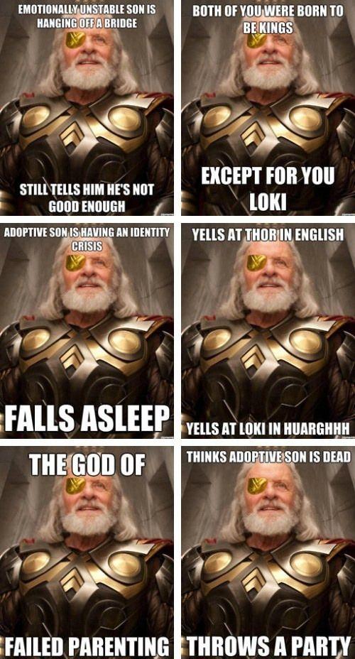 loki odin meme clean memes ridguard marvel