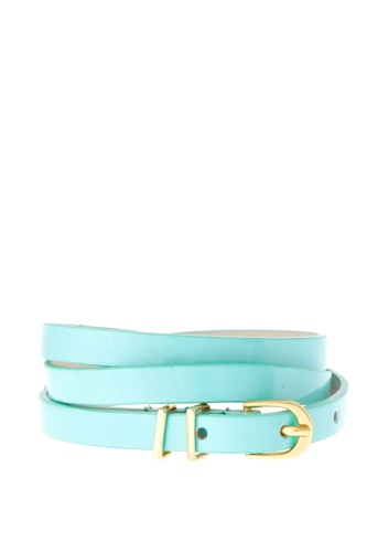 Something Pastel:  ASOS Pastel Metal Keeper Super Skinny Belt, $10.74,