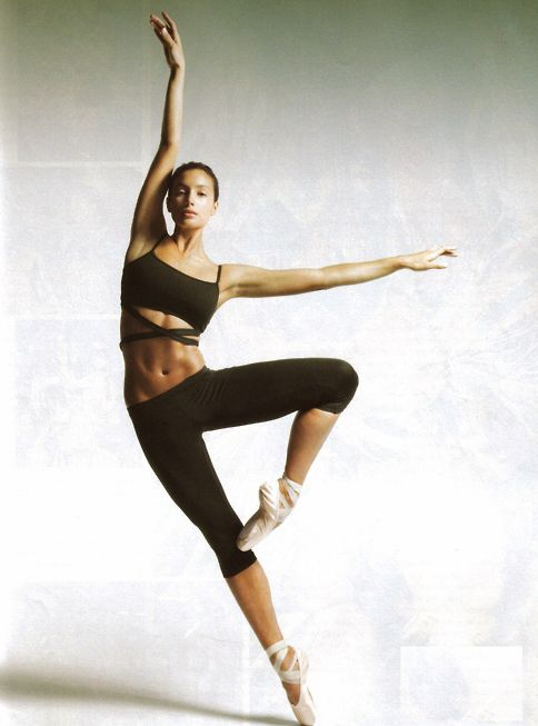 Strength + grace< i want a strong ballerina body like this
