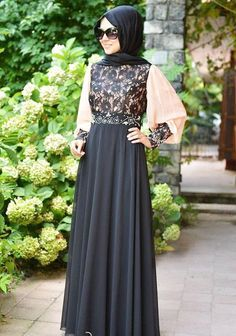 Multicolored Fancy Lace Abaya Designs 2016-2017 | BestStylo.com