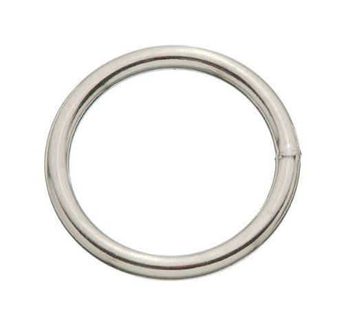 Tough-1 Steel Wire Welded Rings by JT. $1.20. Nickel Plated Rings