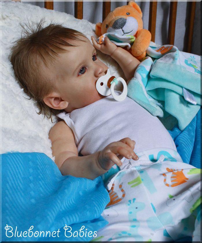 Reborn Baby Boy Li By Bluebonnet Babies Big Baby Dolls Real Life Baby Dolls Baby Dolls