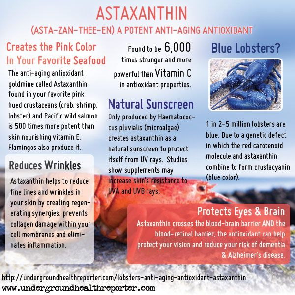 Health Benefits Of Natural Astaxanthin