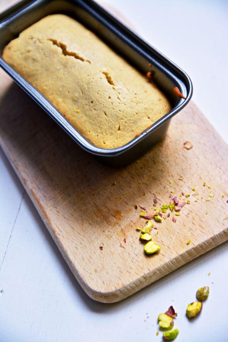 Ces petits cakes moelleux à la pistache et aux amandes (sans gluten et sans…