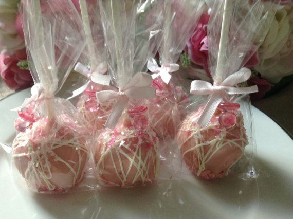 custom listing for randylearieper Cake Pops by PartyTimeChocolates