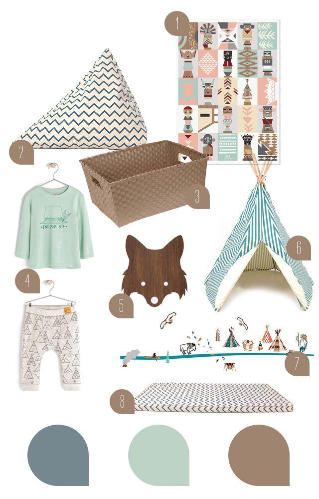 blog love // sanvie mini - little indians kids room inspiration