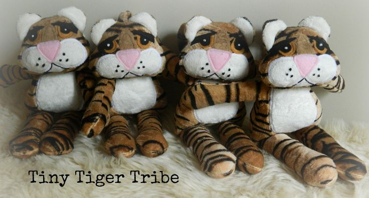 Tiny Tigers ~ Now available thru FB page :)