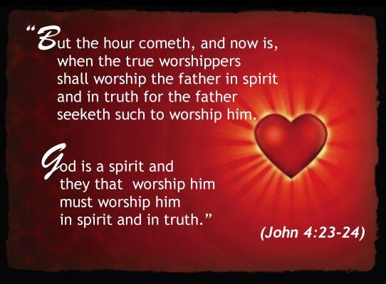 John 4 23 24 John 4 23 24 Beast Falseprophet
