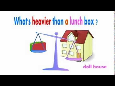 What's heavier than a lunch box? - YouTube