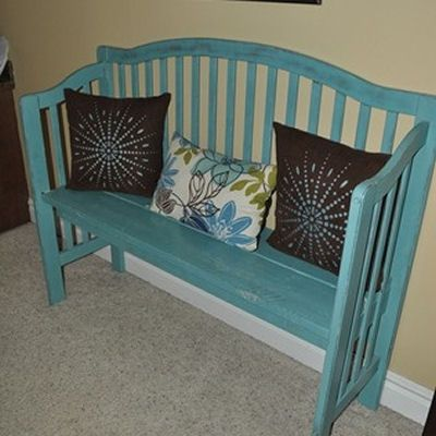 turn a crib into a bench tutorial if you want to keep your crib for sentimental reasons but it. Black Bedroom Furniture Sets. Home Design Ideas