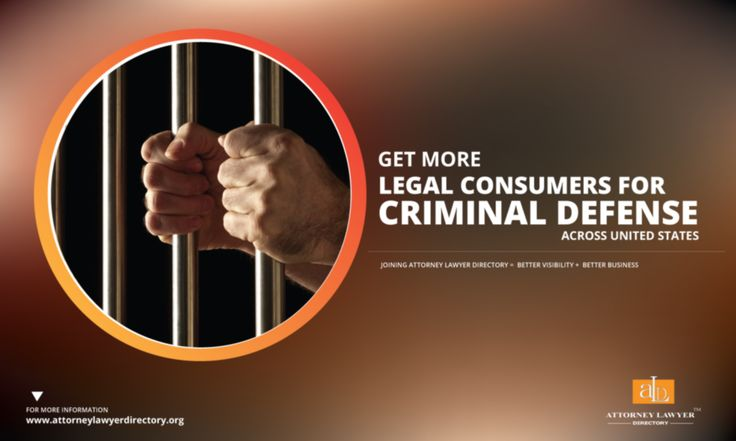 Get More Legal Consumers for Criminal defense across United States. Joining Attorney Lawyer Directory = More visibility + More Business #lawyer #attorney #crime #criminallaw #criminallawyer #criminalattorney http://attorneylawyerdirectory.org/find-locate-lawyer-lawfirms/criminal-defense.html