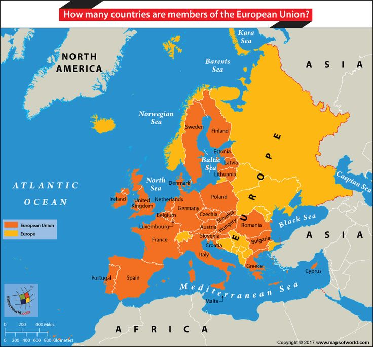 The European Union (EU) is an international organization made up of 28 member countries from the continent of Europe. This union is centered on the furtherance of common economic and socio-cultural goals and cooperation in a number of matters including defense, trade, and technology-transfer. Initially, only countries from Western EuropeRead More
